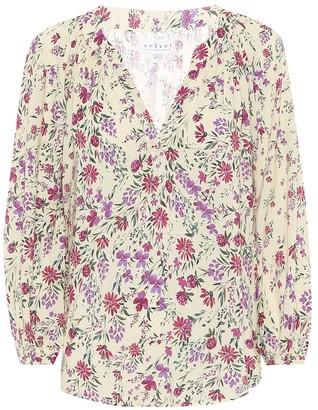 Velvet Briana floral top