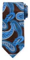 Ermenegildo Zegna Large-Paisley Silk Tie