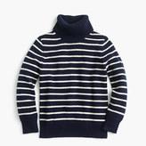 J.Crew Boys' striped cotton turtleneck sweater