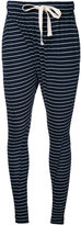 Bassike striped slouchy trousers - women - Cotton - XS