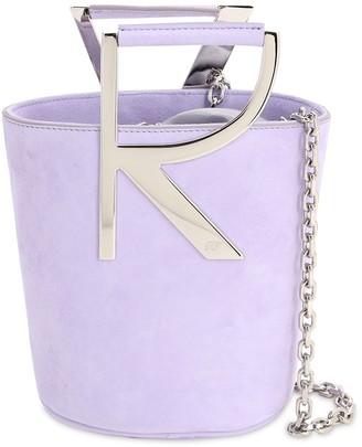 Roger Vivier Suede Bucket Bag