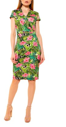 Alexia Admor Kinsley Cap Sleeve Sheath Dress