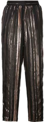 IRO striped loose trousers