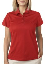 adidas Ladies ClimaLite(r) Pique Short-Sleeve PoloS A131