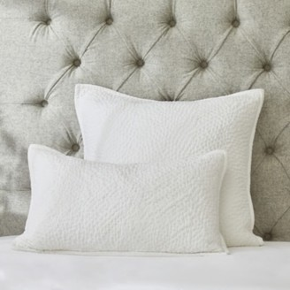 The White Company Cushion Cover - Single, White, Small Rectangle