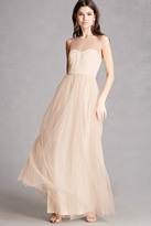 Forever 21 FOREVER 21+ Lilibet Sequin Illusion Gown