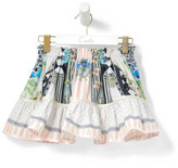 Camilla Girls Short Skirt With Trim