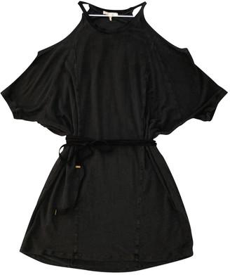 Maje Anthracite Linen Dresses