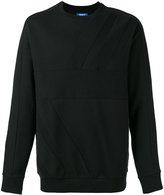 adidas tonal panel sweatshirt - men - Cotton - M