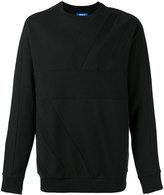 adidas tonal panel sweatshirt