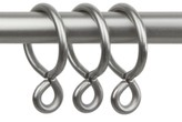 "Rod Desyne Rod Desyne Set of 10 Curtain Eyelet 1"" Rings"