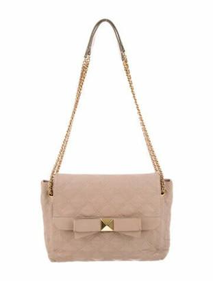 Marc Jacobs Quilted Leather Shoulder Bag Gold