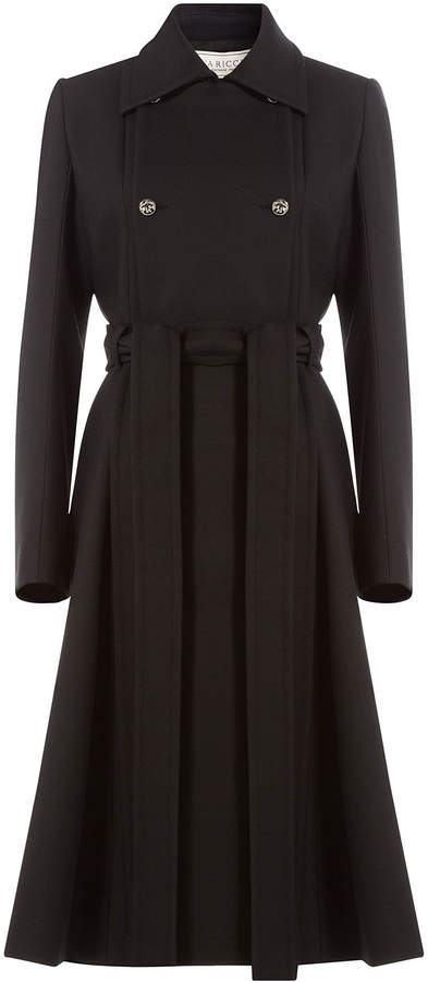 Nina Ricci Belted Coat with Wool