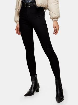 Topshop Joni Jeans - Black