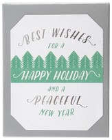 Paper Magic 12ct Holiday Tops of Trees Holiday Boxed Cards