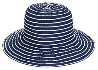 San Diego Hat Company Striped Cloche Hat
