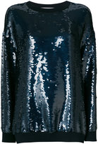 Stella McCartney sequin-embellished Ines sweatshirt - women - Silk/Cotton/Polyester - 38