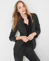 White House Black Market Herringbone Ponte Jacket