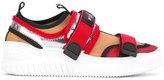 No.21 colour block technical trainers - women - Cotton/rubber - 36