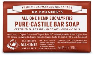 Dr. Bronner's All-One Hemp Eucalyptus Pure-Castile Bar Soap 140G