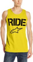 Alpinestars Mens Ride Solid Tank Top, /Black