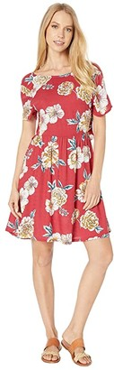 Roxy Hello Cilento Dress (Deep Claret Sept) Women's Dress