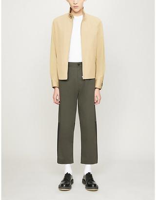 Sandro Zipped cotton-twill jacket