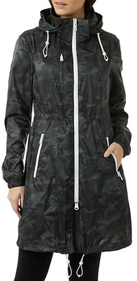 Pajar Packable Hooded Camo-Print Anorak