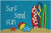 Couristan Surf Sand Sun Hooked Rectangle Rugs