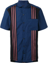 Lanvin striped detail shirt - men - Cotton - XS