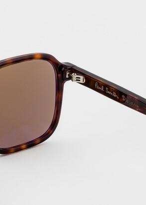 Paul Smith Dark Turtle 'Delany' Sunglasses