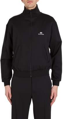 Balenciaga Track Jacket With Logo