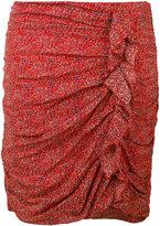 Etoile Isabel Marant ruffle trim gathered skirt