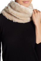 Natasha Accessories Faux Fur Knit Snood