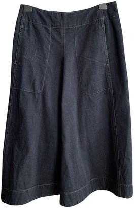 Lemaire Blue Denim - Jeans Skirt for Women