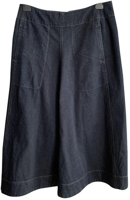 Lemaire Blue Denim - Jeans Skirts