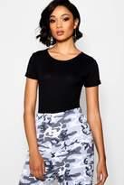 boohoo Tall Natasha T-Shirt Bodysuit