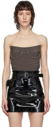 Fleet Ilya Black Slim Two-Pocket Belt