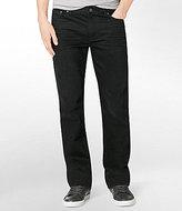 Calvin Klein Jeans Worn-In Straight-Leg Jeans