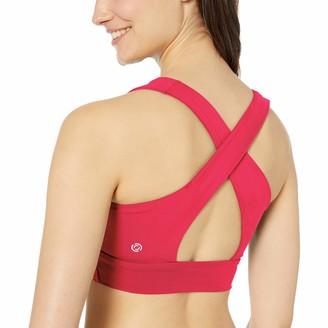 Core 10 Amazon Brand Women's Longline Racerback Yoga Sports Bralette
