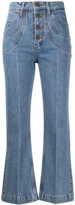 Sandro Alex cropped jeans