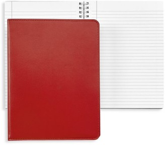 Graphic Image Workspace Refillable Leather Notebook