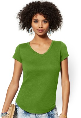 New York & Co. V-Neck Perfect Tee