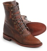 "Chippewa Renegade Original Lacer Leather Boots - Removable Kiltie, 8"" (For Women)"
