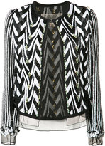 Giambattista Valli embellished jacket - women - Silk - 42