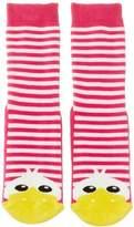 Country Kids Slipper Dee Dee Animal Print Socks