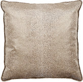 Dransfield and Ross Shagreen-Print Velvet PIllow-Grey
