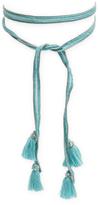 Chan Luu Marine Chiffon Choker Necklace