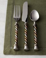 GG Collection G G Collection 20-Piece Twisted Flatware Service