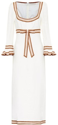 Zimmermann Super Eight linen midi dress